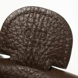 Hermes Cacao Togo Leather Evelyne III GM Bag