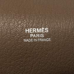 حقيبة هيرمس جيبسيار إكسسوار بلاديوم جلد كليمنس توريليون أتان 31