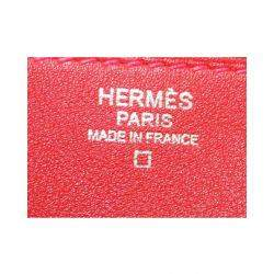 Hermes Red Leather Hermail Tutti-Frutti Pomme Bag