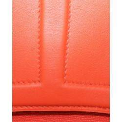 Hermes Orange Leather Harnais 2017 Bag