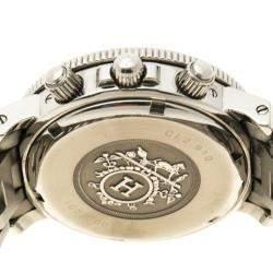 Hermes Black Stainless Steel Clipper CL2.910 Women's Wristwatch 40 mm