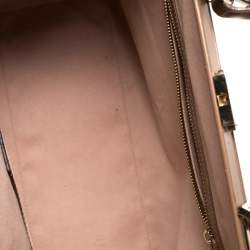 Hugo Boss Brown Leather Romy Top Handle Bag