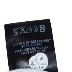 Isabel Marant Etoile White Denim Dot Embroidered Rumba Pants M