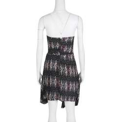 Isabel Marant Etoile Anouk Strapless Printed Silk Dress XS