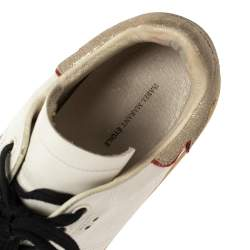 Isabel Marant White Leather Low Top Sneakers Size 38