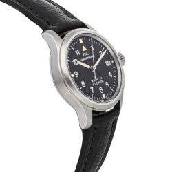 IWC Black Stainless Steel Pilot's Mark XII IW4421-01 Women's Wristwatch 28 MM