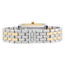 Jaeger LeCoultre Two-tone Silver 18K Yellow Reverso Q2605110 Women's Wristwatch 33.0 x 20.5 MM