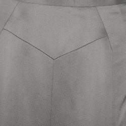 Jason Wu Grey A-Line Skirt L