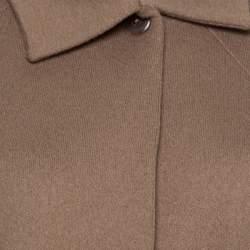 Jil Sander Beige Wool Box Sleeve Oversized Jacket S