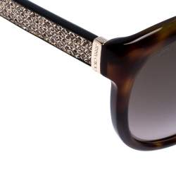 Jimmy Choo Brown Tortoise Glee Sunglasses