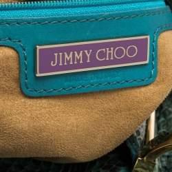 Jimmy Choo Green/Black Watersnake Alex Hobo