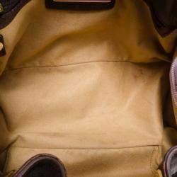 Jimmy Choo Small Brown Leather Ramona
