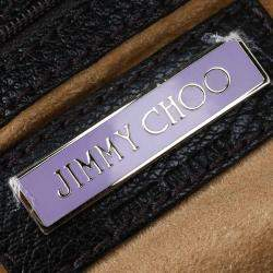 Jimmy Choo Choco Brown Leather Tulita Hobo