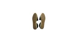 Jimmy Choo Black Cutwork Mesh Espadrilles Size EU 39.5