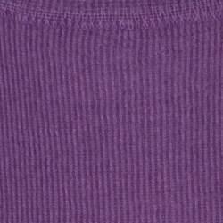 Joseph Purple Cashmere Knit Short Sleeve Top S