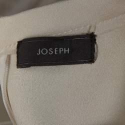 Joseph Cream Double Satin Tai/Ruppert Culottes & Top Set S