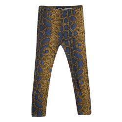 Just Cavalli Multicolor Python Print Leggings S