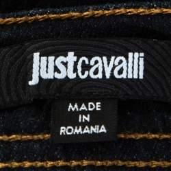 Just Cavalli Blue Dark Wash Denim Slim Fit jeans M