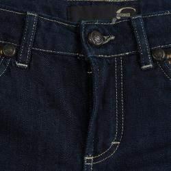 Just Cavalli Indigo Dark Wash Denim Studded Skinny Jeans S