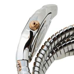 Just Cavalli Two-Tone Stainless Steel Glam Snake Septagon JC1L112M0055 Women's Wristwatch 22 mm