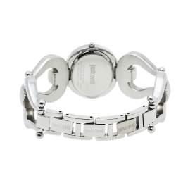 Just Cavalli Silver Stainless Steel R7235109501 Quartz Women's Wristwatch 29 mm