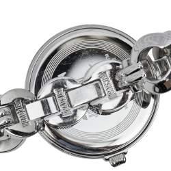 Just Cavalli Silver Stainless Steel Midnight R725315454 Women's Wristwatch 41 mm