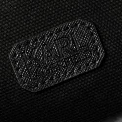 Karl Lagerfeld Pink/Black Leather K/jet Choupette Shopper Tote