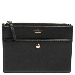 Kate Spade Black Leather Crossbody Bags