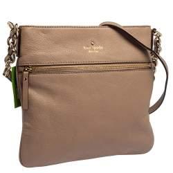 Kate Spade Pink Leather Cobble Hill Ellen Crossbody Bag