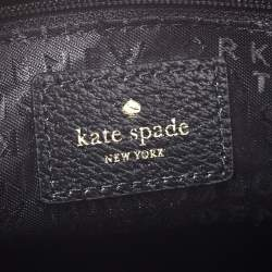 Kate Spade Black Leather Tote