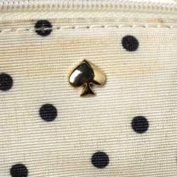 Kate Spade Gold Leather Flap Shoulder Bag