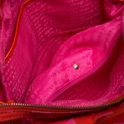 Kate Spade Pink/Red Nylon Karen Hobo