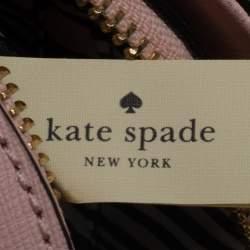 حقيبة كيت سبيد قبة سيلفيا جلد وردية فاتحة
