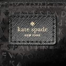 Kate Spade Black Nylon And Leather Avenue Tote