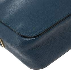 Kate Spade Blue Leather Kingston Drive Arla Crossbody Bag