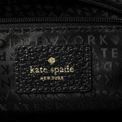 Kate Spade Black Leather Wellesley Kory Work Tote
