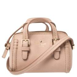 Kate Spade Pink Leather Orchard Street Charlie Crossbody Bag
