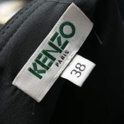 Kenzo Black Eye Capsule Collection Third Eye Jacquard Shift Dress M