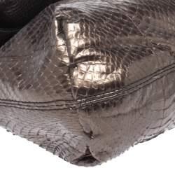 Lanvin Metallic Python Happy Shoulder Bag