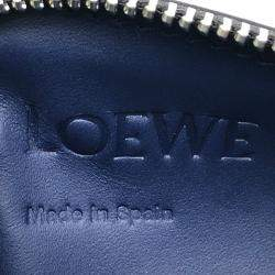 Loewe Black/Navy Calfskin Leather Coin Case