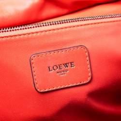 Loewe Tricolor Leather Amazona Satchel