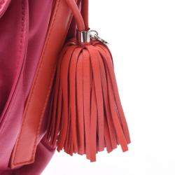 Loewe Pink Leather Flamenco 30 Bag