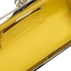 Loewe Multicolor Printed Leather Frame Shoulder Bag