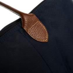 Longchamp Navy Blue Nylon Small Le Pliage Tote