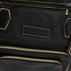 Longchamp Black Leather Legend Tote