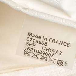 Longchamp White Nylon Mini Le Pliage Tote