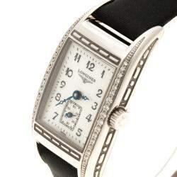 Longines Mother of Pearl Stainless Steel BelleArti Women's Wristwatch 19mm