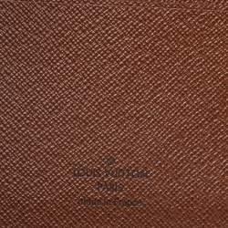 Louis Vuitton Coated Canvas Desk Agenda Cover