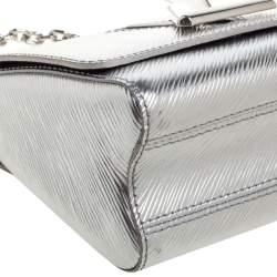 Louis Vuitton Silver Epi Leather Twist PM Bag