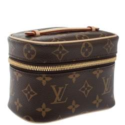 Louis Vuitton Monogram Canvas Nice Nano Bag